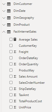 Tabellen des Datenmodells, welche übersetzt werden sollen