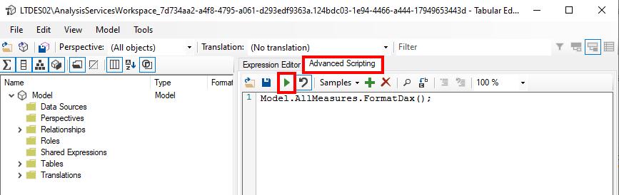 Alle Measures automatisch mit Tabular Editor formatieren