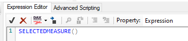 Function in Expression Editor